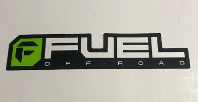 Fuel off road sticker decal decals 2 stickers fuel wheel wheels USA made octagon