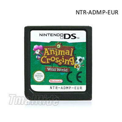 Wild World  (Nintendo DS,2005) für DS 3DS NDSi NDS Game Card  Animal Crossing