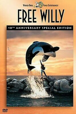 Free Willy (DVD, 2003, 10th Anniversary Special Edition) DISC IS MINT