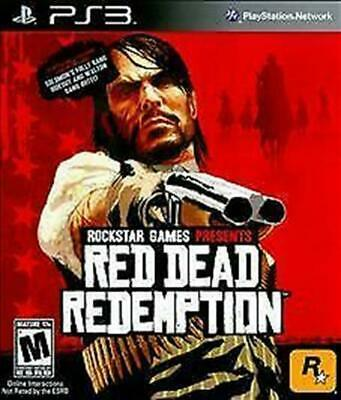 Red Dead Redemption (PlayStation 3, 2010) VERY GOOD - MISSING COVER