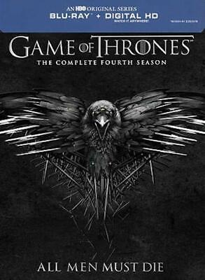 Game of Thrones: Season 4 (Blu-ray Disc, 2015, 4-Disc Set) DISC IS MINT