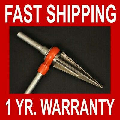 "Ridgid Pipe Reamer Ratcheting Tapered #3 34950 3/8 to 3"" Handle 300 535 700 1822"