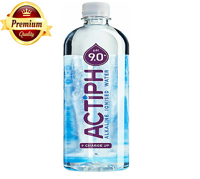 ActiPH 12 Pack Naturally Perfect Alkaline Ionized Water Purifier Mineral 1 Litre