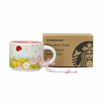 STARBUCKS JAPAN Sakura 2020 Spring You are here Collection Mug Cup 59ml Limited
