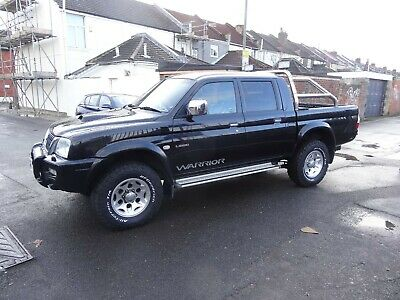 Stunning 2004 Mitsubishi L200 Warrior Double Cab 4X4 4Wd Pick Up Truck, No Vat!