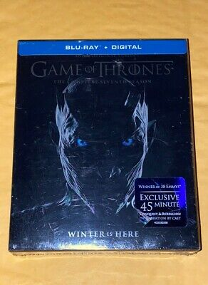 Game of Thrones The Complete 7 Season Blu Ray+Digital Brand New