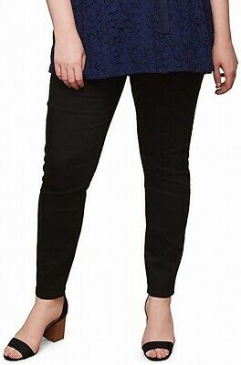 Motherhood Maternity Womens Black Size Medium PM Petite Pants Stretch $80 507