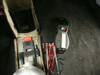 Vintage Amprobe Clamp And Volt Meter RS-3 With Case