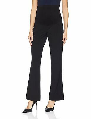 Motherhood Maternity Womens Dress Pants Black Large PL Petite Stretch $40 396