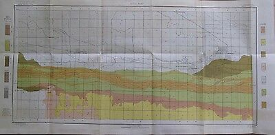 Folded Color Soil Survey Map Kearney Nebraska Odessa Elmcreek Riverdale 1904