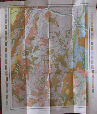 Color Soil Survey Map Leesburg Virginia Harper's Ferry Maryland Leesburg 1903