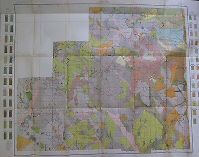 Folded Soil Survey Map Winston County Mississippi Louisville Highpoint Noxapater