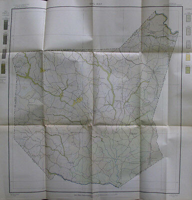 Color Soil Survey Map Franklin County Georgia Carnesville Lavonia Royston 1909