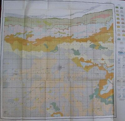 Color Soil Survey Map Kearney County Nebraska Minden Wilcox Norman Axtell 1928