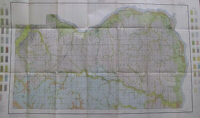 Folded Color Soil Survey Map Cass County Nebraska Weeping Water Plattsmouth 1913
