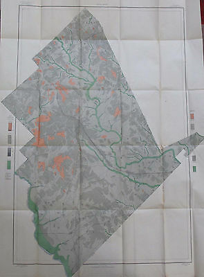 Color Soil Survey Map Dodge County Georgia Eastman Rhine Chauncey Chester 1904