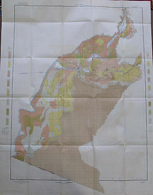 Color Alkali Soil Survey Map Yuma Arizona Gila River Ivalon Blaisdall 1904