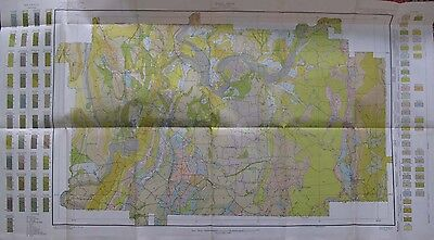 Folded Color Soil Survey Map  Gordon County Georgia Calhoun Ranger Lilypond 1913