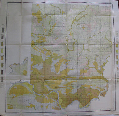 Soil Survey Map Conway County Arkansas Morrillton Hattieville Plumerville 1907