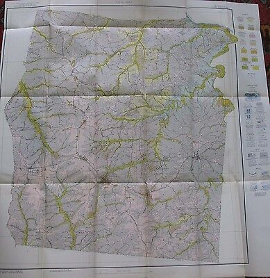 Agriculture Folding Soil Survey Map Dickson County Tennessee Dickson Burns 1926