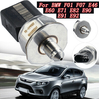 Fuel Pressure Sensor For BMW F01 F07 E46 E60 E71 E82 E90 E91 E92 13 53 7 537 319