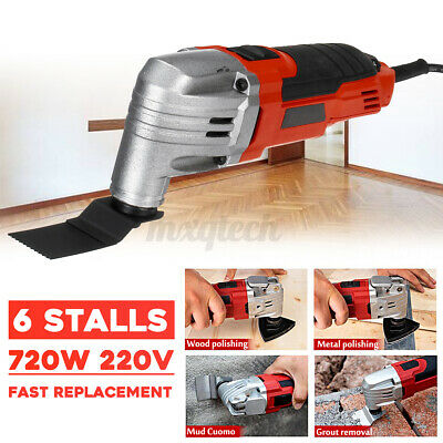 720W Oscillating 6 Stall Speed Sanding Polish Swing Multi-Tool Power Tool   a