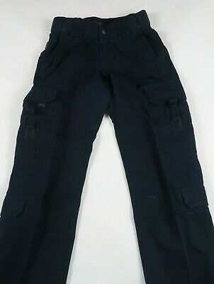 5.11 Tactical Series Womens Navy Blue Cargo Utility Outdoor Pants 4 Long