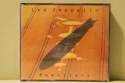 Led Zeppelin Remasters 2 CD 1990 Royal Mail 1st Class FAST & FREE