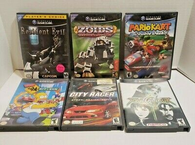 Nintendo Gamecube Video Game Lot! YOU PICK AND CHOOSE!