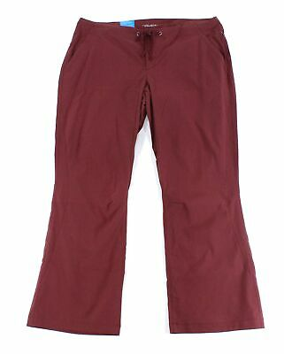 Columbia Womens Activewear Bottoms Red Size 16 Short UPF 50 Omni-Shield Pants