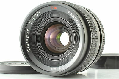 [Exc+4] Contax Carl Zeiss Distagon T* 35mm f2.8 MMJ Lens RTS CY mount From JAPAN
