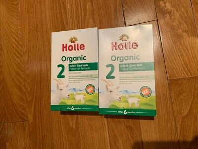 2 Boxes Holle Organic Goat Milk Formula Stage 2 [400g each]