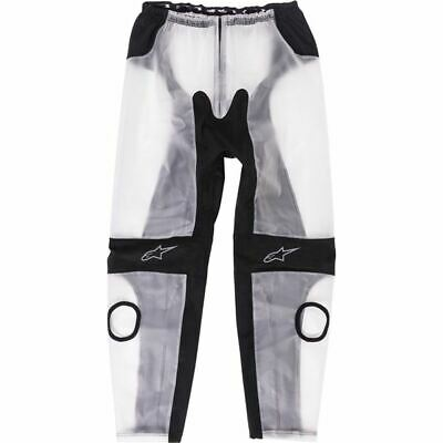 Alpinestars Racing Rain Pants - Clear/Black, All Sizes