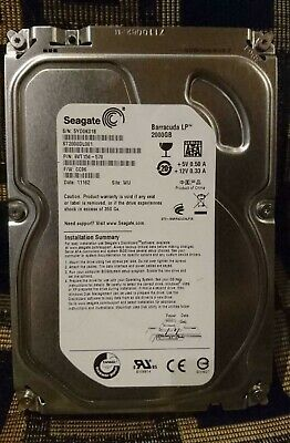 Seagate Barracuda Lp 2Tb 3.5: Hard Disk Drive - Desktop Hdd