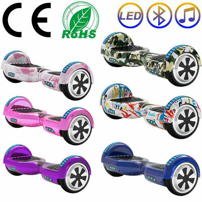 Hoverboard Luci Led Speaker E Bluetooth Scooter Overboard 6,5 Sottocosto