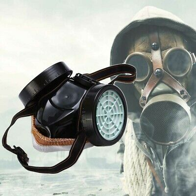Anti Gas Ma-sk Survival Safety Respiratory Emergency Filter Face Mask Protect