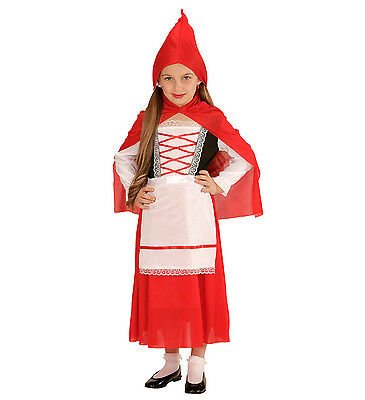 Girl Carnival Costume Riding Red Ps 24905