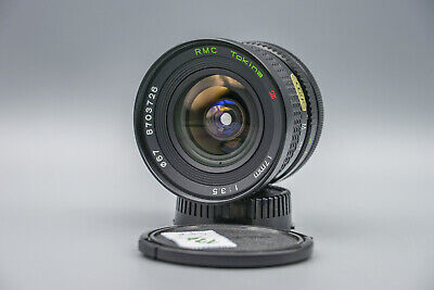 Tokina RMC wide-angle lenses 17mm 1:3.5 For Canon FD , Novel
