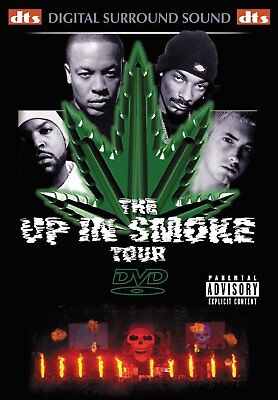 The Up In Smoke Tour 2000 Dr Dre / Snoop Dogg / Eminem DVD Brand New 2009