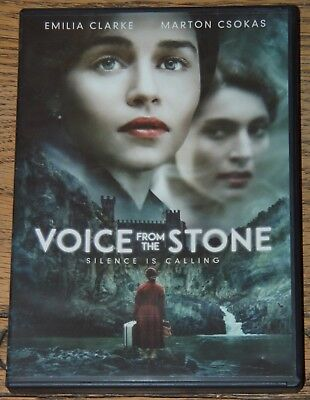 Voice From The Stone 2017 Emilia Clarke With English Sdh Subtitles Usa R1 Dvd