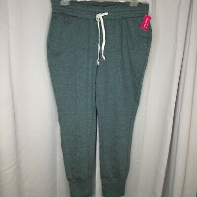 Womans Gray Jogging Pants Xhilaration Sleepwear Size Large NWT