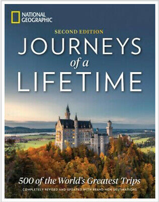 Journeys of a Lifetime, 2nd Edition: 500 of the World's Greatest Trips-Hardcover