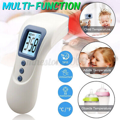 Non-Contact IR Infrared Digital Adult Baby Forehead Body Meter Thermometer Gun