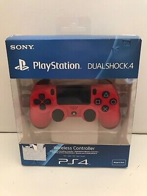 Dualshock 4 PS4 rosso