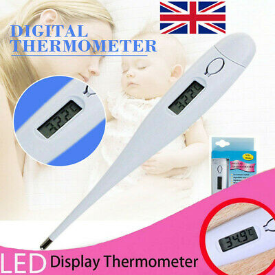 Oral LCD Digital Thermometer For Baby Kids & Adult Health Medical Thermometers