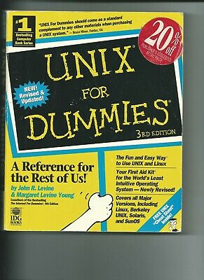 UNIX for Dummies by John R. Levine and Margaret Levine Young (1998, Paperback)