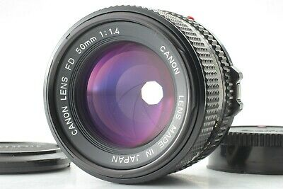 [Excellent+5] Canon NEW FD NFD 50mm f/1.4 MF Standard Prime Lens From Japan #009