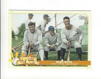 2020 Topps Opening Day Baseball Spring Has Sprung Insert Singles - You Choose