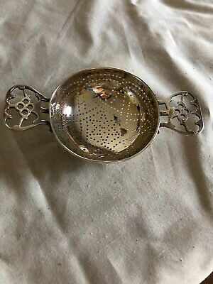 Antique Tiffany And Co. Sterling Silver Tea Strainer Arts And Crafts