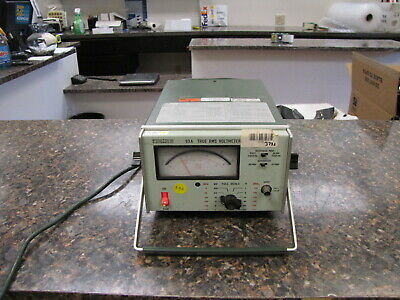 Boonton 93A True RMS Voltmeter - works